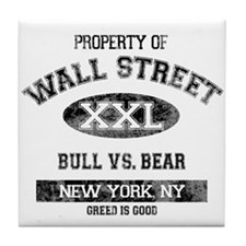 Property of Wall Street Tile Coaster