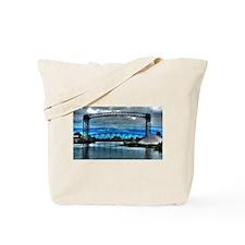 Bridge in the Flats Tote Bag