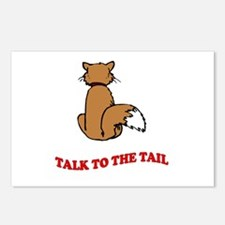 Talk To The Tail Postcards (Package of 8)
