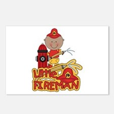 AA Fireman With Hose Postcards (Package of 8)