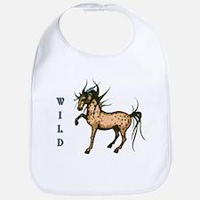 Wild and Free Horse Bib
