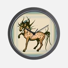 Wild and Free Horse Wall Clock