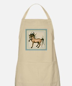 Wild and Free Horse  BBQ Apron
