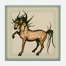 Wild and Free Horse Tile Coaster
