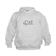 Love doesn't count chromosome Hoodie