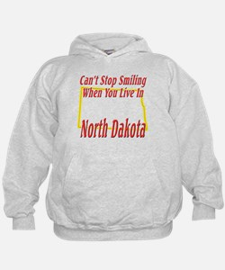 Can't Stop Smiling in ND Hoodie
