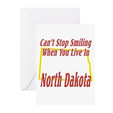 Can't Stop Smiling in ND Greeting Cards (Pk of 20)