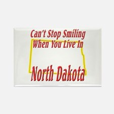 Can't Stop Smiling in ND Rectangle Magnet