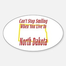 Can't Stop Smiling in ND Decal