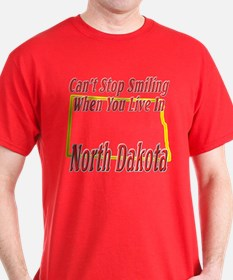 Can't Stop Smiling in ND T-Shirt