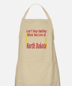 Can't Stop Smiling in ND Apron