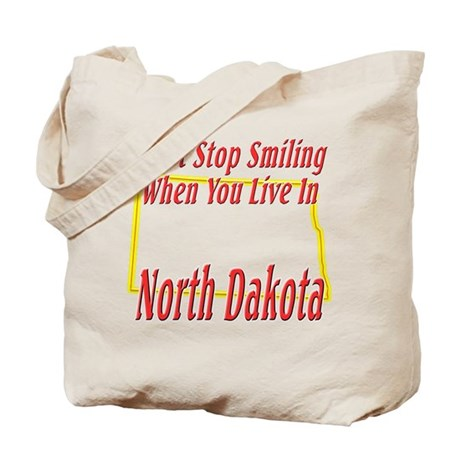 Can't Stop Smiling in ND Tote Bag