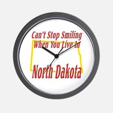 Can't Stop Smiling in ND Wall Clock