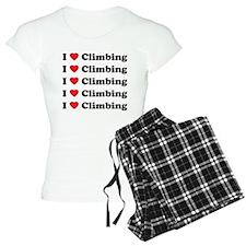 I Love Climbing (A lot) Pajamas