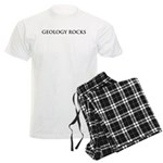Geology Rocks Men's Light Pajamas