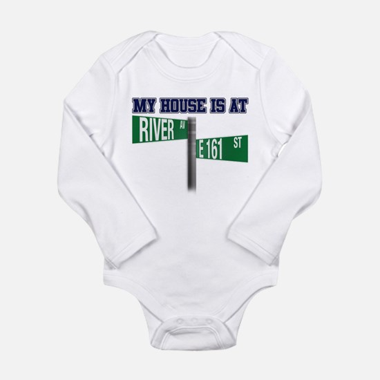 161st and River Long Sleeve Infant Bodysuit