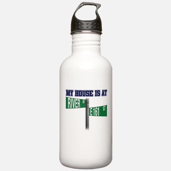 161st and River Water Bottle