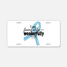 Fearfully made Blue ribbon Aluminum License Plate