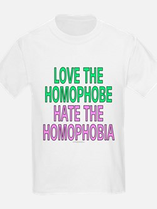 Love the homophobe... (kids t-shirt)