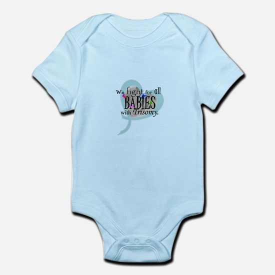 Fight for all babies with Tri Infant Bodysuit
