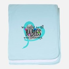 Fight for all babies with Tri baby blanket