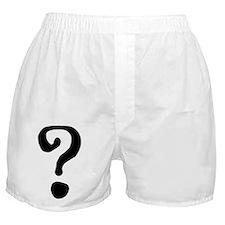 Question Mark Boxer Shorts