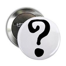 "Question Mark 2.25"" Button"