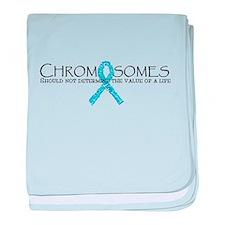 Chromosomes don't determine t baby blanket