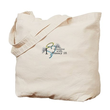 Love an angel with Trisomy 18 Tote Bag