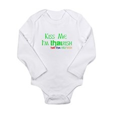 THAIRISH! Half Thai Half Irish Long Sleeve Infant