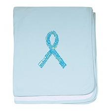 Trisomy 18 and 13 ribbon baby blanket