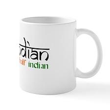 Half British/Half Indian = BRINDIAN! Mug