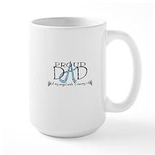 Proud T18 angel dad Mug
