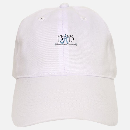 Proud T18 angel dad Baseball Baseball Cap