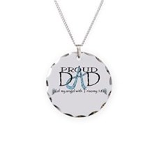 Proud T18 angel dad Necklace