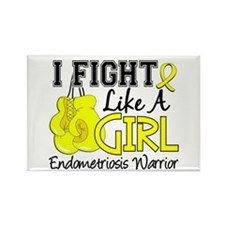 Licensed Fight Like A Girl 15.2 E Rectangle Magnet