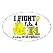 Fight Like A Girl Endometriosis Decal