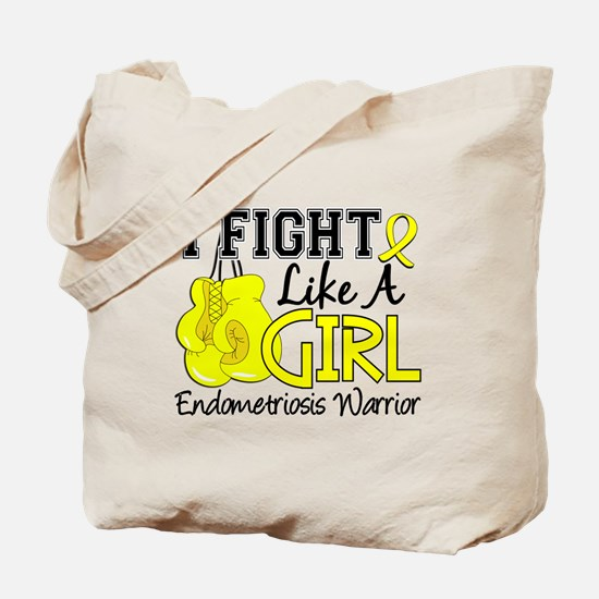 Licensed Fight Like A Girl 15.2 Endometri Tote Bag