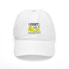 Licensed Fight Like A Girl 15.2 Endometriosis Baseball Baseball Cap