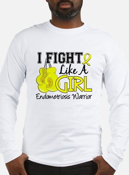 Licensed Fight Like A Girl 15. Long Sleeve T-Shirt