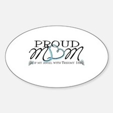 Proud T18 angel mom Decal