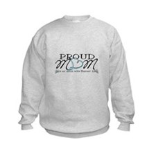 Proud T18 angel mom Sweatshirt