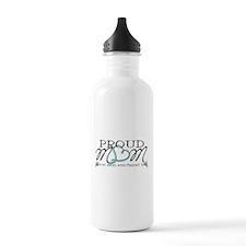 Proud T18 angel mom Water Bottle