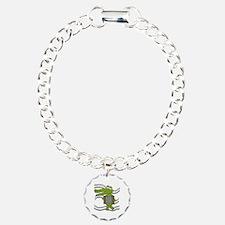 Crocodile With Accordion Bracelet