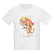 Kids For Cheetahs Designs T-Shirt