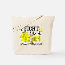 Licensed Fight Like A Girl 15.5 Endometri Tote Bag