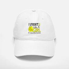 Licensed Fight Like A Girl 15.5 Endometriosis Baseball Baseball Cap
