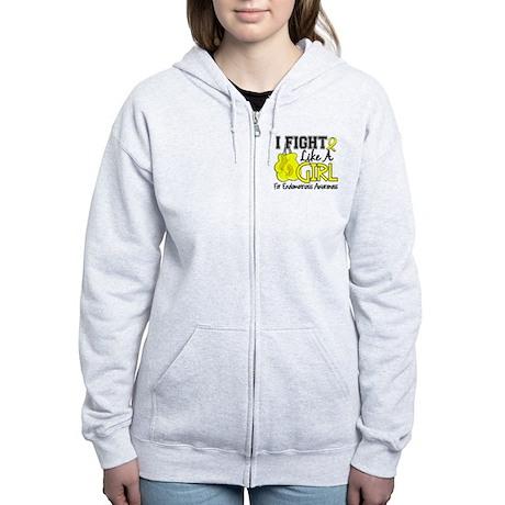 Licensed Fight Like A Girl 15.5 Women's Zip Hoodie