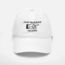 Just Married Leland Baseball Baseball Cap