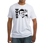 What Would Reagan Do Fitted T-Shirt